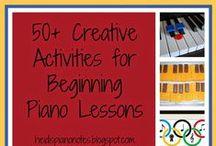 Heidis Piano Notes / Piano Teaching Ideas / by Heidi Neal