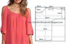 Sewing Tutorials / Costura, moda e moldes