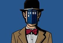 Gallery of the Time Lords / Doctor who Art board!  / by Zak