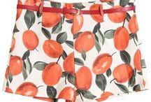 Fruity fashion & Home decor