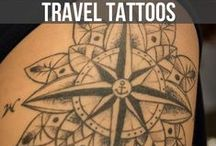 TRAVEL INSPIRED TATTOOS / The most beautiful travel inspired tattoos from across the globe all in one place.