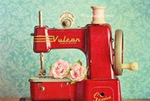 Vintage Sewing Machines / by Grace Dunn
