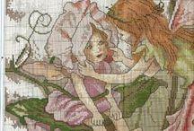 Nathalia Palfi / cross stitch children