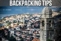 BACKPACKING TIPS / Backpacking tips for first time backpackers. Articles and travel tips from the best travel blogs on the internet. Backpacking around Europe, Backpacking SE Asia or anywhere in the world, find the best backpacking tips here!