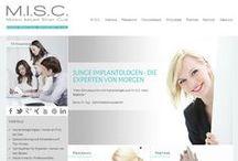 M.I.S.C.   Munich Implant Study Club / M.I.S.C. steht für eine neue Art der Ausbildung für Zahnmediziner. Bei uns erhalten Zahnmediziner erstklassiges Know-how auf dem spannenden Gebiet der Implantologie.  Erfahren Sie mehr auf: http://munich-implant-study-club.de/