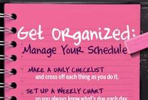Staying organised