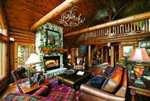 Log Home Great Rooms / Explore log home great rooms.