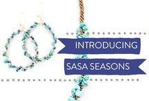 Sasa Seasons / These are limited edition pieces, available through our Plum Alley crowdfunding campaign. Watch our short video and see how you can help us employ and empower Deaf women in Kenya!