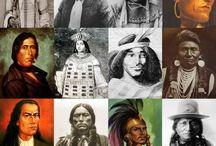 .natifs d'Amérique. / Indiens d'amérique ,