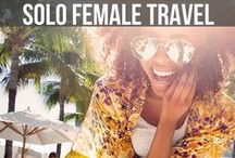 Solo Female Travel Blog / Planning on going out on a solo trip? Find out the best solo travel tips, tips from solo female travel blogs, best solo destinations. If you would like to pin on this board email hello@foodfuntravel.com. Please remember to share others pins as well