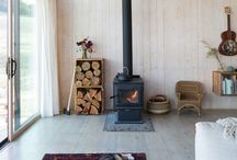 ◇ Fireplace / A cold Winter day and a roaring fire. Perfect.
