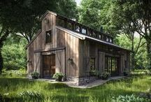 small & wooden homes / eco friendly, natural, beautiful & tiny log houses