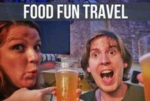 Food Fun Travel - Travel Tips / Best vacation destinations in the world - follow our journey around the world finding Food Fun and Adventure as we go.