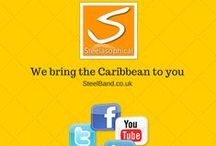 WEDDING VENUES UK / Pics taken from venues Steelasophical have performed at http://steelband.co.uk