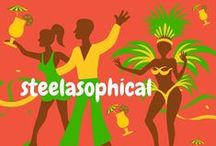 STELL PAN DRUM HISTORY / http://steelband.co.uk #steelband We bring the Caribbean to you