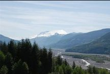 Mount St. Helens / Images of Mount St. Helens, which is the focus of projects led by the Portland District of the U.S. Army Corps of Engineers.