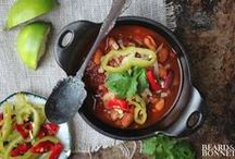 Fall Stews & Casseroles / Leaves are changing and so is the produce at our Farmer's markets. Kids are back to school and days are shorter. Make cooking easy with these one pot meals...  stews and casseroles for Fall (and Winter). http://enjidaily.com/zine/cooking