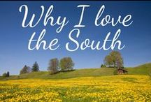 """ALL THINGS SOUTHERN / Only a Southerner knows the difference between a hissie fit and a conniption fit, and that you don't """"HAVE"""" them, you """"PITCH"""" them. Only a Southerner can show or point out to you the general direction of """"yonder."""" Only a Southerner knows exactly how long """"directly"""" is -- as in: """"Going to town, be back directly."""" Even Southern babies know that """"Gimme some sugar"""" is not a request for the white, granular sweet substance that sits in a pretty little bowl in the middle of the table.  / by Linda Luttrell"""