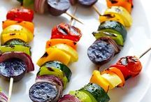 Healthy Grilling / Nutritionists agree that bringing your own dish to parties helps keep your diet goals on track. Here are some great ideas for your next BBQ, cookout or summer party! Featured recipes on www.enjidaily.com/zine/cooking.