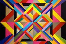 ART/PEINTURE / Abstraction géométrique
