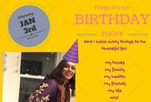 Special Days! / Birthdays, New Year, Diwali, Mother's Day, Book releases and more... / by Falguni Kothari