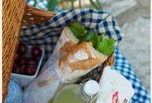 PicnicKurven / Hvad er den perfekte sammensætning af mad til en picnickurv og hvilke opskrifter er guld værd når man skal ud og lufte den ternede dug?