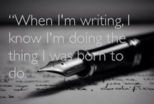 Writing *-*