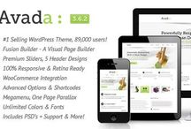 Best WordPress Themes / WP themes I love.  Every theme listed is Responsive, most are retina-ready, and many come with premium wordpress plugins like visual page builders and sliders. Some are one page themes with parallax effects. Many have child themes so it's like having 40 templates in one.  Theme frameworks, wordpress plug-ins