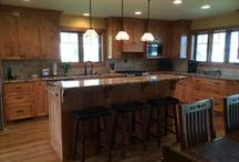 Craftsman Style Kitchen / Craftsman Style Tile, Stone, Woodwork In The Kitchen