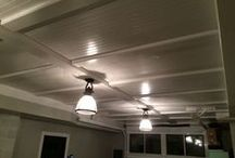 Garage Ceiling / Woodwork In The Garage