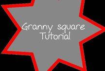 granny squares tutorials