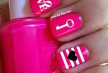 valentine's nails / manicure walentynkowy
