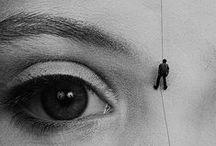 """Gottfried Helnwein / """"My art is not an answer, it is a question."""" http://www.helnwein.com/"""