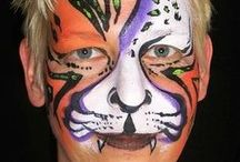 Kitty's Cats face paint / I love cats. They have their own mind and show you many faces. In facepainting you can paint cats in sooo many ways. Take a look at my cat journey... prrrrrr miauw.