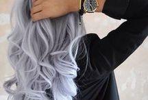 Haare / Frisuren und Farbe