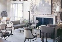 Living Rooms / A love of all things french, shabby and vintage with a touch of casual elegance.