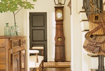 Fabulous Foyers / A love of all things french, shabby and vintage with a touch of casual elegance.