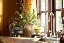 Kitchen / A love of all things french, shabby and vintage with a touch of casual elegance.
