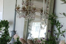 Mirror Mirror.... / A love of all things french, shabby and vintage with a touch of casual elegance.
