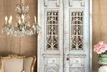 Architectural Salvage / A love of all things french, shabby and vintage with a touch of casual elegance.