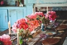 Casual Elegant Entertaining / A love of all things french, shabby and vintage with a touch of casual elegance.