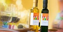 Olive Oil Party Favors and Family Events / Showers, Births, Birthdays, Graduation or just plain get-together!  Celebrate with our unique gifts and olive oil and vinegar party favors.