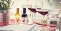 Olive Oil and Valentines's Day / Why not give your Valentine a personalized bottle, or better yet, a case of Valentine olive oil?  It is a healthy and original gift!