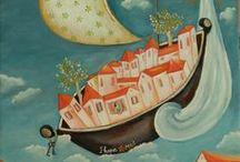 Ioanna Veremi ''landscape'' / Ακρυλικά σε καμβά