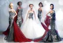 Colección: 5 Diamonds in Red / Junio 2014 Barbie Ooak dolls by David Bocci for Refugio Rosa.