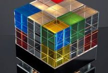 Quadratisch, praktisch / Würfel, Quadrate,Cube. Wohnen mit quadratischem