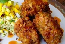 Gluten and Seitan Recipes--Fakin beef and chicken! / Easily made at home, chicken and beef substitutes. Amazingly delicious! / by Susanne Swisher