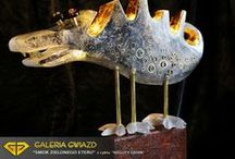Glass sculpture and jewellery