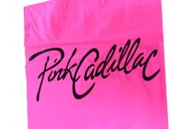 Pink Cadillac / Be a true Pink Cadillac Fan ! We have our own 'Pink Cadillac' Collection. Purchase pens, bags, t-shirts and greeting cards. Available instore only. www.pinkcadillac.co.uk