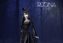 """Proyecto: Regina, Evil Queen / Ella esta inspirada en Regina, reina malvada de la serie """"Once Upon a Time"""", con diseño exclusivo del Refugio Rosa."""